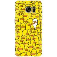 Силиконовый чехол BoxFace Samsung G930 Galaxy S7 Yellow Ducklings (24997-up2428)