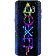 Силиконовый чехол BoxFace Samsung G930 Galaxy S7 Graffiti symbols (24997-up2432)