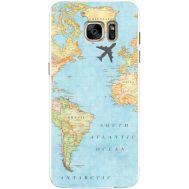 Силиконовый чехол BoxFace Samsung G930 Galaxy S7 Карта (24997-up2434)