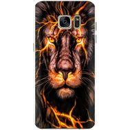 Силиконовый чехол BoxFace Samsung G930 Galaxy S7 Fire Lion (24997-up2437)
