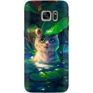 Силиконовый чехол BoxFace Samsung G930 Galaxy S7 White Tiger Cub (24997-up2452)