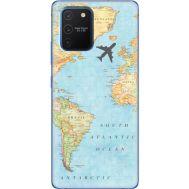Силиконовый чехол BoxFace Samsung G770 Galaxy S10 Lite Карта (38971-up2434)