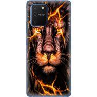Силиконовый чехол BoxFace Samsung G770 Galaxy S10 Lite Fire Lion (38971-up2437)