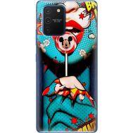 Силиконовый чехол BoxFace Samsung G770 Galaxy S10 Lite Girl Pop Art (38971-up2444)