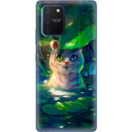 Силиконовый чехол BoxFace Samsung G770 Galaxy S10 Lite White Tiger Cub (38971-up2452)