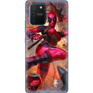 Силиконовый чехол BoxFace Samsung G770 Galaxy S10 Lite Woman Deadpool (38971-up2453)