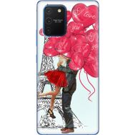 Силиконовый чехол BoxFace Samsung G770 Galaxy S10 Lite Love in Paris (38971-up2460)