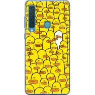 Силиконовый чехол BoxFace Samsung A920 Galaxy A9 2018 Yellow Ducklings (35645-up2428)