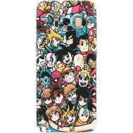 Силиконовый чехол BoxFace Samsung G950 Galaxy S8 Anime Stickers (29896-up2458)