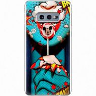 Силиконовый чехол BoxFace Samsung G970 Galaxy S10e Girl Pop Art (35855-up2444)
