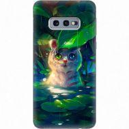 Силиконовый чехол BoxFace Samsung G970 Galaxy S10e White Tiger Cub (35855-up2452)