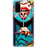 Силиконовый чехол BoxFace Samsung G980 Galaxy S20 Girl Pop Art (38869-up2444)