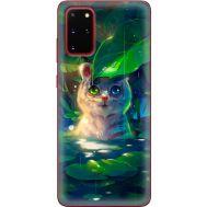 Силиконовый чехол BoxFace Samsung G985 Galaxy S20 Plus White Tiger Cub (38874-up2452)