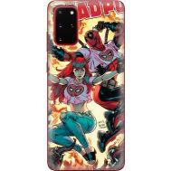 Силиконовый чехол BoxFace Samsung G985 Galaxy S20 Plus Deadpool and Mary Jane (38874-up2454)