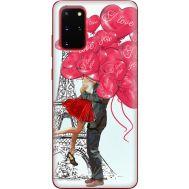 Силиконовый чехол BoxFace Samsung G985 Galaxy S20 Plus Love in Paris (38874-up2460)