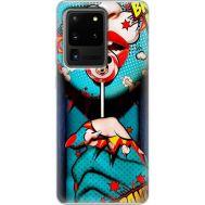 Силиконовый чехол BoxFace Samsung G988 Galaxy S20 Ultra Girl Pop Art (38878-up2444)