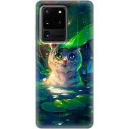 Силиконовый чехол BoxFace Samsung G988 Galaxy S20 Ultra White Tiger Cub (38878-up2452)