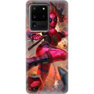 Силиконовый чехол BoxFace Samsung G988 Galaxy S20 Ultra Woman Deadpool (38878-up2453)