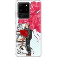 Силиконовый чехол BoxFace Samsung G988 Galaxy S20 Ultra Love in Paris (38878-up2460)