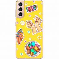 Силиконовый чехол BoxFace Samsung G991 Galaxy S21 (41709-up2362)