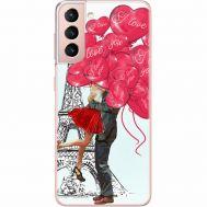 Силиконовый чехол BoxFace Samsung G991 Galaxy S21 Love in Paris (41709-up2460)