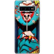 Силиконовый чехол BoxFace Samsung G973 Galaxy S10 Girl Pop Art (35853-up2444)