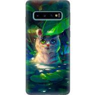 Силиконовый чехол BoxFace Samsung G973 Galaxy S10 White Tiger Cub (35853-up2452)