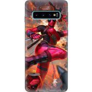 Силиконовый чехол BoxFace Samsung G973 Galaxy S10 Woman Deadpool (35853-up2453)