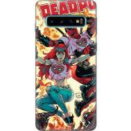 Силиконовый чехол BoxFace Samsung G973 Galaxy S10 Deadpool and Mary Jane (35853-up2454)