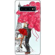 Силиконовый чехол BoxFace Samsung G973 Galaxy S10 Love in Paris (35853-up2460)