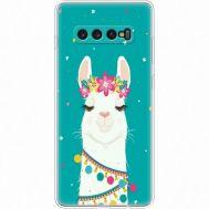 Силиконовый чехол BoxFace Samsung G975 Galaxy S10 Plus Cold Llama (35854-up2435)