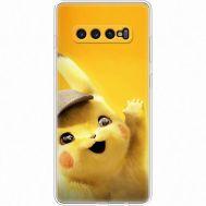 Силиконовый чехол BoxFace Samsung G975 Galaxy S10 Plus Pikachu (35854-up2440)