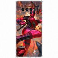 Силиконовый чехол BoxFace Samsung G975 Galaxy S10 Plus Woman Deadpool (35854-up2453)