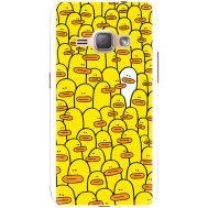Силиконовый чехол BoxFace Samsung J120H Galaxy J1 2016 Yellow Ducklings (25190-up2428)