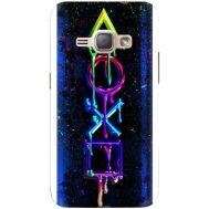 Силиконовый чехол BoxFace Samsung J120H Galaxy J1 2016 Graffiti symbols (25190-up2432)