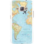 Силиконовый чехол BoxFace Samsung J120H Galaxy J1 2016 Карта (25190-up2434)