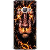Силиконовый чехол BoxFace Samsung J120H Galaxy J1 2016 Fire Lion (25190-up2437)