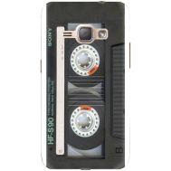 Силиконовый чехол BoxFace Samsung J120H Galaxy J1 2016 Старая касета (25190-up2445)