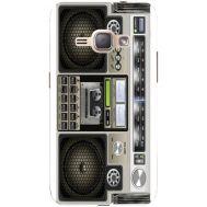 Силиконовый чехол BoxFace Samsung J120H Galaxy J1 2016 Old Boombox (25190-up2446)