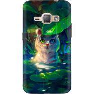 Силиконовый чехол BoxFace Samsung J120H Galaxy J1 2016 White Tiger Cub (25190-up2452)