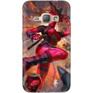 Силиконовый чехол BoxFace Samsung J120H Galaxy J1 2016 Woman Deadpool (25190-up2453)