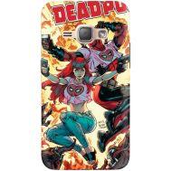 Силиконовый чехол BoxFace Samsung J120H Galaxy J1 2016 Deadpool and Mary Jane (25190-up2454)