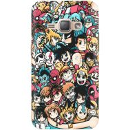 Силиконовый чехол BoxFace Samsung J120H Galaxy J1 2016 Anime Stickers (25190-up2458)