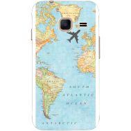 Силиконовый чехол BoxFace Samsung J105 Galaxy J1 Mini Duos Карта (24712-up2434)
