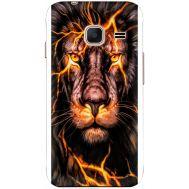 Силиконовый чехол BoxFace Samsung J105 Galaxy J1 Mini Duos Fire Lion (24712-up2437)