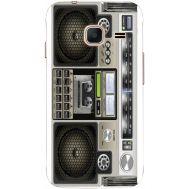 Силиконовый чехол BoxFace Samsung J105 Galaxy J1 Mini Duos Old Boombox (24712-up2446)