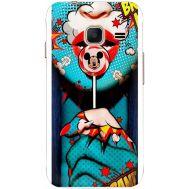 Силиконовый чехол BoxFace Samsung J105 Galaxy J1 Mini Duos Girl Pop Art (24712-up2444)