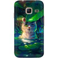 Силиконовый чехол BoxFace Samsung J105 Galaxy J1 Mini Duos White Tiger Cub (24712-up2452)
