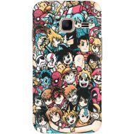 Силиконовый чехол BoxFace Samsung J105 Galaxy J1 Mini Duos Anime Stickers (24712-up2458)