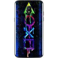 Силиконовый чехол BoxFace Samsung J250 Galaxy J2 (2018) Graffiti symbols (32874-up2432)